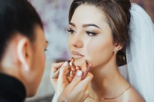 Andrada Rusu Makeup Bride in Progress