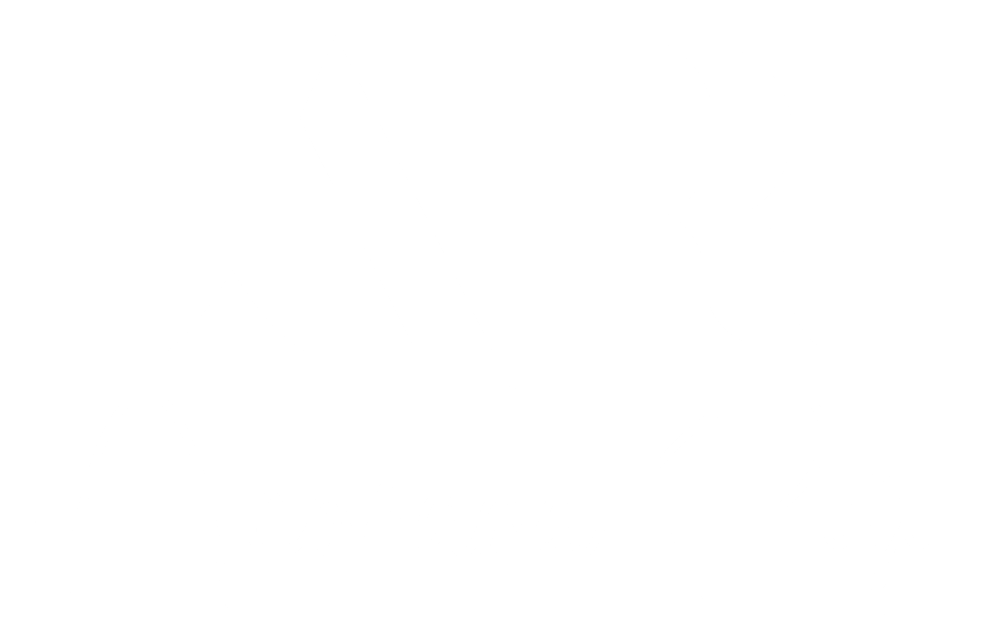 Andrada Rusu Makeup Logo White Text Transparent